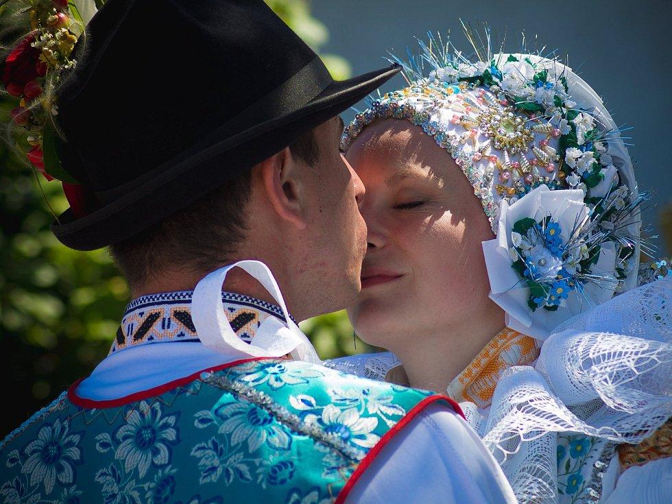 Mezinárodní folklorní festival ve Strážnici. Ilustrační foto z předchozích ročníků.
