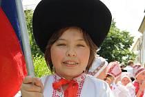 Mezinárodní folklorní festival Štěpy - ilustrační foto.