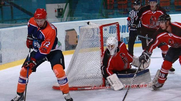 Hodonínští hokejisté porazili v přípravném utkání Trnavu 4:3. Vítězný gól dal v 53. minutě Zdeněk Kučera.