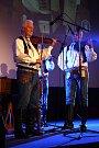 Martin Hrbáč se svou cimbálovou muzikou oslavil padeswát let v kině Morava ve Veselí nad Moravou.