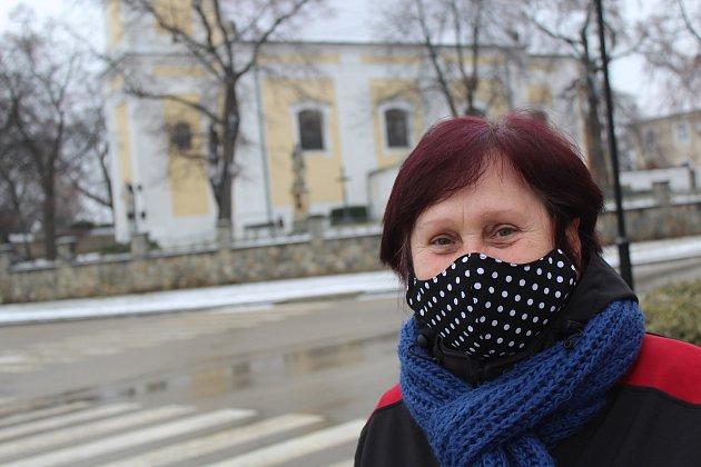 Jiřina Štyglicová, 62let, důchodkyně
