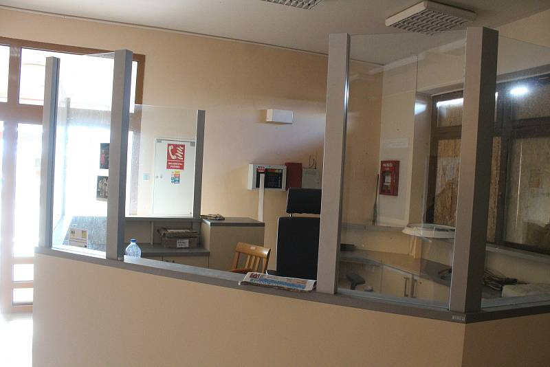 Hodonínské S-centrum ve středu odpoledne, tedy v době, kdy se zaměstnankyně dozvěděly o tom, že dostanou výpověď.