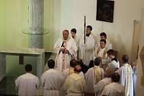 Bukovanskou kapli zasvětil arcibiskup Graubner bývalému papeži Janu Pavlu II.