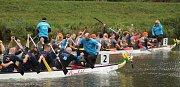 Třetí ročník Drakobití se uskutečnil na řece Moravě u Veslařského klubu v Hodoníně. Zúčastnilo se ho 24 týmů.