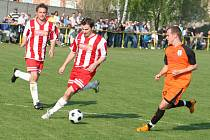 Fotbalisté Vacenovic remízovali s Vracovem.