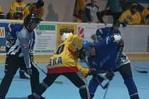 Hokejbalisté hodonínského Staropramenu čeká letos náročná sezona. Budou totiž hrát extraligu.