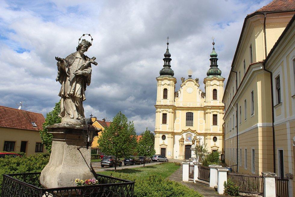 Kostel Nanebevzetí Panny Marie ve Strážnici.
