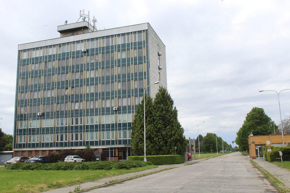 Správní budova veselských železáren.
