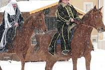 Tři králové vybírali loní na koních