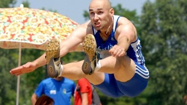 Hodonínský atlet Lukáš Lípa.