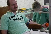 Daruj krev s Mužským sborem z Vacenovic. To byla akce, do které se zapojilo devatenáct dárců krve.