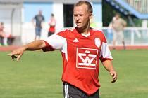 Záložník Dušan Macko (na snímku) se na trávník vrátil po zranění, Blatnici ale k výhře nad Dražovicemi nepomohl.
