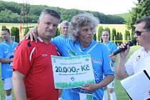Fotbalisté Dambořic o víkendu oslavili výročí osmdesáti let založení klubu. Hlavním bodem oslav bylo utkání staré gardy Sokola proti Menšíkově jedenáctce.