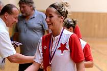 Mistrovství ČR žen ve futsalu 2016 v Hodoníně, 19. června 2016.