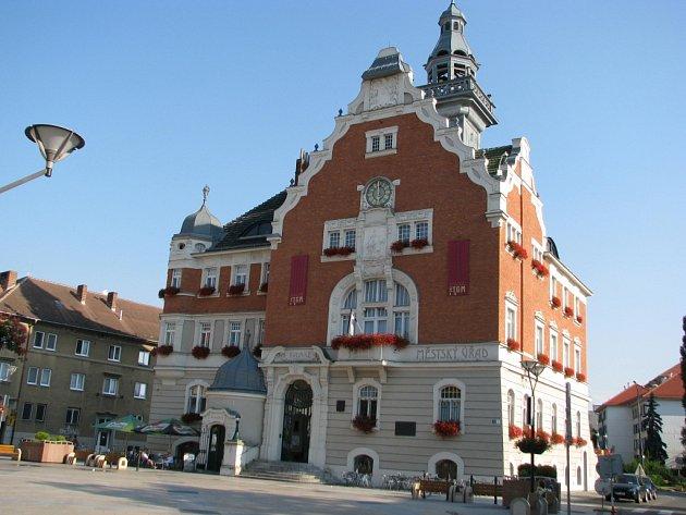 Hodonínská radnice - ilustrační foto.