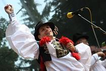 Mezinárodní folklorní festival ve Strážnici - ilustrační foto.