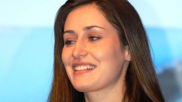 Raftařka Martina Blanářová byla zvolena nejlepší sportovkyní města Hodonína za rok 2013.