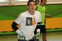 Brankář Marek Vrba (na snímku) ve čtvrtém kole Kyjovské halové ligy vychytal Flamengu výhru nad Young Boys.