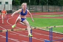 Hodonínská atletka Eliška Dřímalová