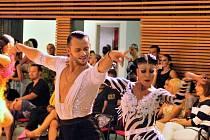 Václav Masaryk s Klárou Chovančíkovou skončili v hlavním programu Super taneční ligy dospělých na druhém místě.