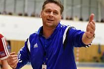 Slovenský trenér házenkářek Veselí nad Moravou Slavomír Varga (na snímku) litoval po zápase v Prešově hlavně neproměněných šancí.