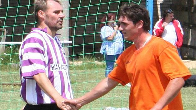 Václav Janouškovec (vlevo) a Radek Žurovec