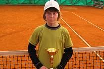 Mladý kyjovský tenista David Straka.