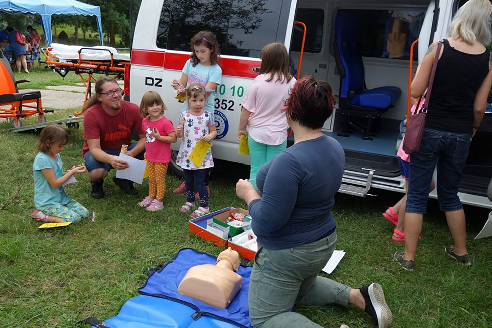 Akční zakončení prázdnin si užily děti ve Slovanském hradišti v Mikulčicích.
