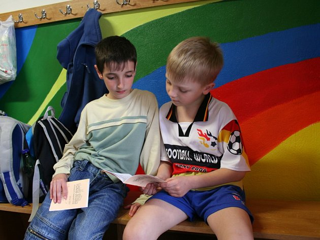 Děti z Domečku si píší své vlastní noviny