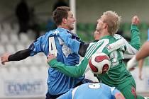 Dosta Bystrc (v zeleném) vs FK Mutěnice