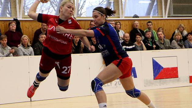 Nová posila v kádru panenek. Bývalá hráčka Šaľy a druhé rakouské ligy v Eggenburgu, Eva Veselková.