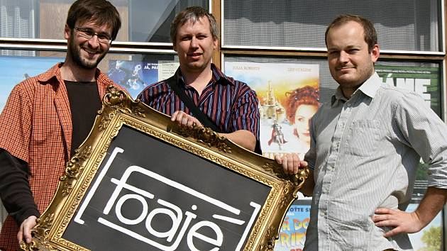 Trojice, která nyní stojí v čele veleské kultury v zastoupení Ivo Juřena, Marek Procházka a Michal Blažíček.