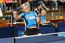 Stolní tenistka Ivana Weberová.