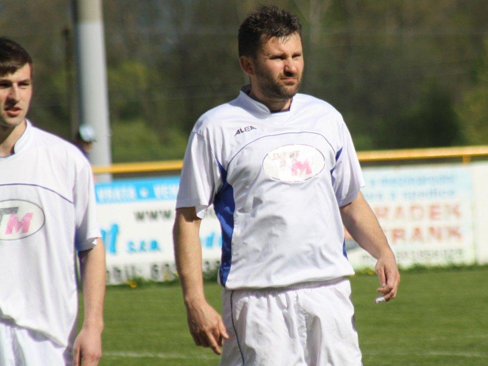 Milotický trenér Petr Vybíral po deseti měsících znovu navlékl dres ratíškovického Baníku.