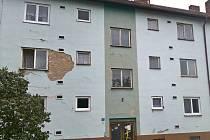 Jeden z domů v hodonínské místní části Bažantnice, který má problémy se statikou.