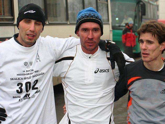 Běh Skalica - Holíč - Hodonín 2009