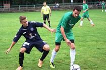 Mladší dorostenci Hodonína (v zeleném) prohráli v závěrečném utkání Memoriálu Vlastislava Marečka se Slováckem 1:9.