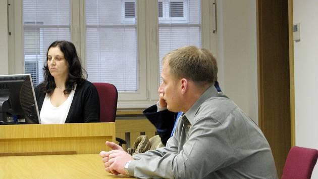 Obžalovaný Milan Jurča při druhém jednání soudu.