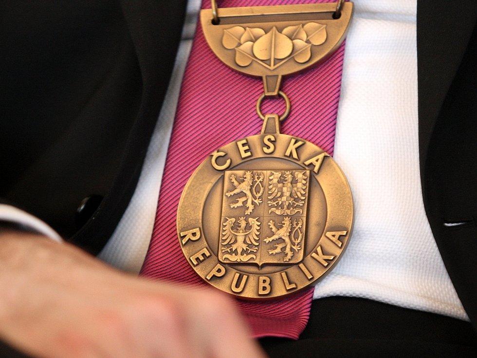 Prezident České republiky Miloš Zeman v Kyjově.