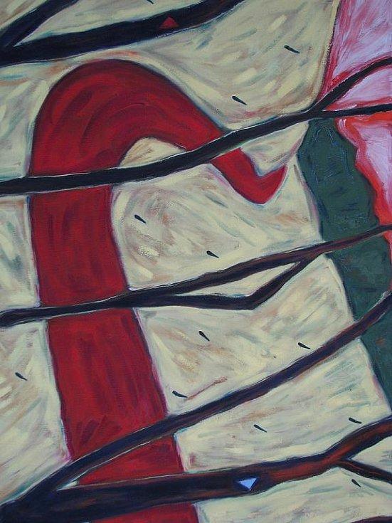 Karel Kudláč představuje v hodonínské galerii Vednevenoci výstavu s názvem Phantasm.