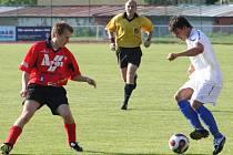 Petr Hrbáček (vpravo) ještě v dresu Kyjova