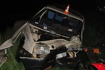 Nehoda u Vracova si vyžádala čtyři zranění.