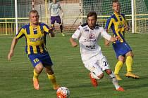 Přípravný zápas 1. FC Slovácka s FC VSS Košice v Ratíškovicích.