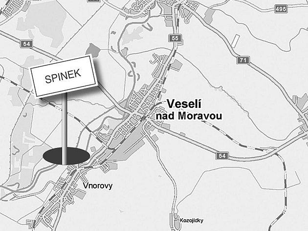 Zaniklá vesnice Spinek
