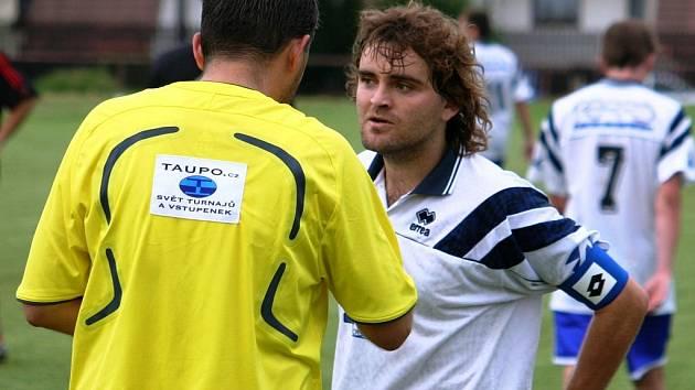 Tomáš Pochylý vyměnil bílý dres hodonínského nováčka za Sudoměřice.