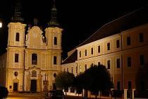 Piaristický chrám Panny Marie Strážnické ve Strážnici.