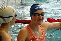 Rohatecká plavkyně Lucie Zubalíková obhájila titul mistryně republiky v dálkovém plavání, když mezi čtrnácti a patnáctiletými kadetkami zvítězila s téměř dvouminutovým náskokem.