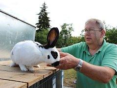 Třetí oblastní, třináctá okresní výstava mladých chovatelů a místní výstava králíků, drůbeže, holubů a exotů se konala v Kyjově.