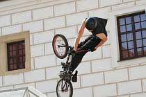 Exhibice BMX  v Čejkovicích