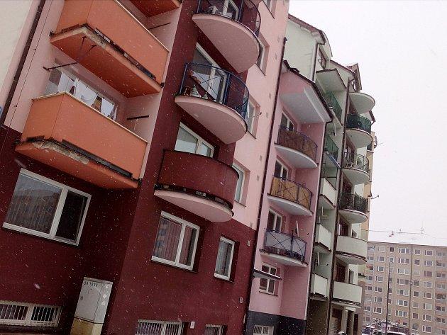 Bytový komplex Pastelky I v Hodoníně. Ilustrační foto.